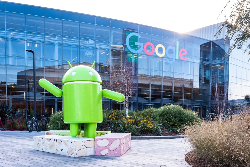 Android OS of Google